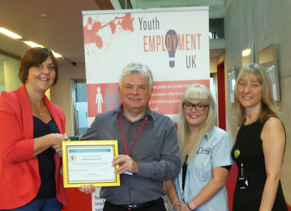 Corby Borough Council becomes first Youth Friendly Borough Council in England